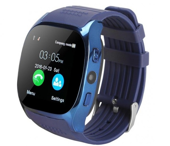 лучшая цена Умные часы No Name T8, синий
