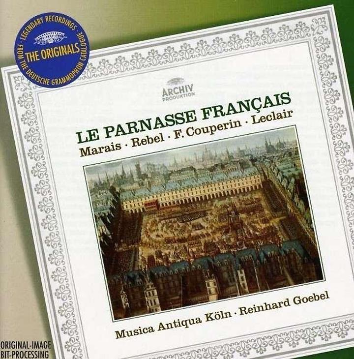 Reinhard Goebel; Musica Antiqua Koeln. Marais/ Rebel/ Couperin/ Leclair mustela gel lavant doux