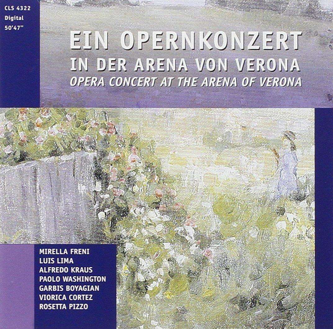 Puccini, Bellini, Verdi U. V. M. Opernkonzert Arena Di Verona m l bladd arena