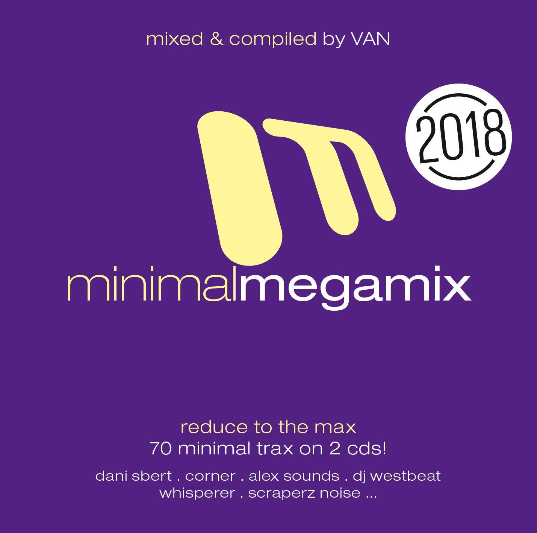 Фото - Various Artists. Minimal Megamix 2018 (2 CD) minimal house 2 cd
