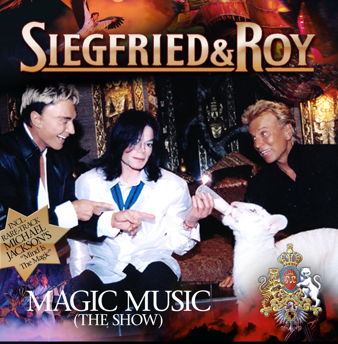 Siegfried,Roy Siegfried & Roy. Magic Music (The Show) цена и фото