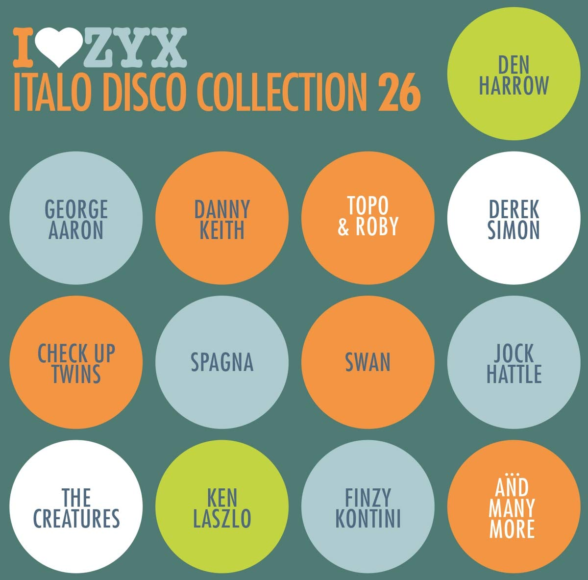Various Artists Various Artists. Zyx Italo Disco Collection 26 (3 CD) italo disco collection 13 3 cd