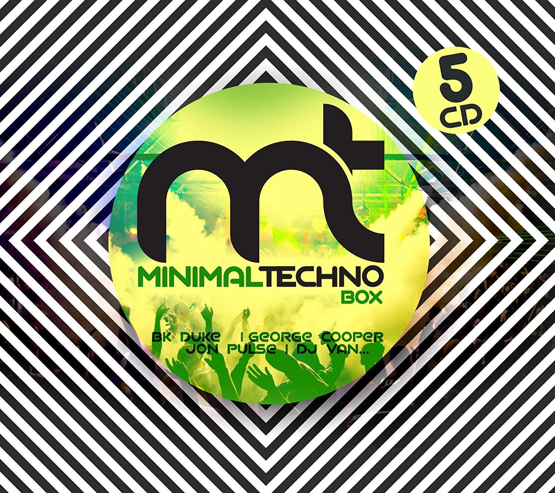 Various Artists. Minimal Techno Box (5 CD) techno 5