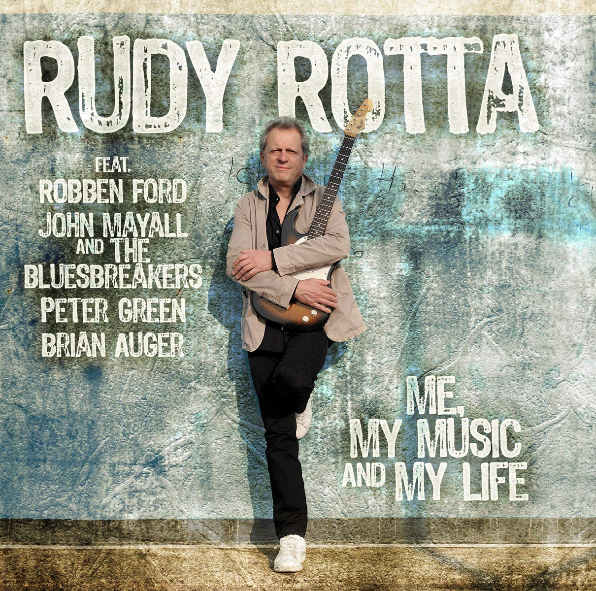 Руди Ротта,Джон Мэйолл Rudy Rotta Feat John Mayall. Me, My Music And My Life (2 CD) my kind of music cool yule 2 cd