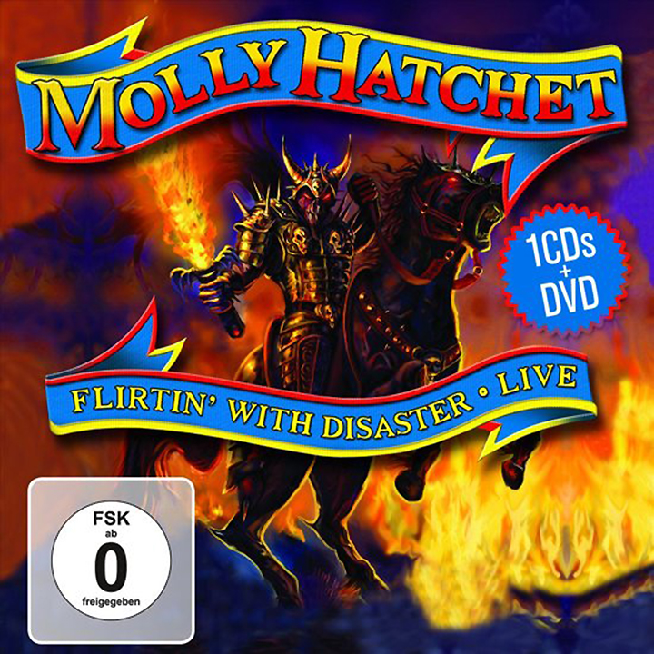 Molly Hatchet. Live - Flirtin' With Disaster ( CD + DVD) kitivr39404unv75606 value kit innovera cd dvd envelopes with clear window ivr39404 and universal correction tape with two way dispenser unv75606