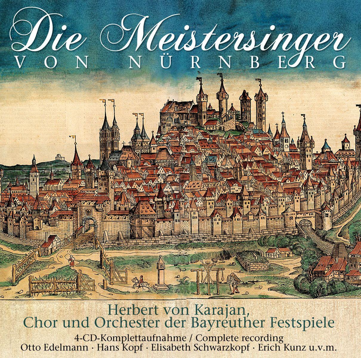 R. Wagner, H. Karajan. Meistersinger Von Nurnberg, Die (4 CD) r wagner prelude