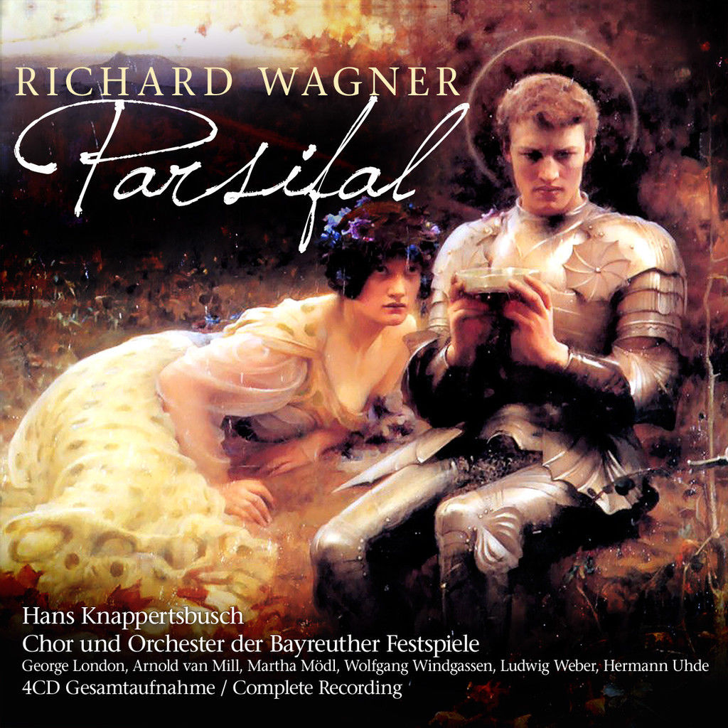 R. Wagner, H. Knappertsbusch. Parsifal (4 CD) r wagner prelude