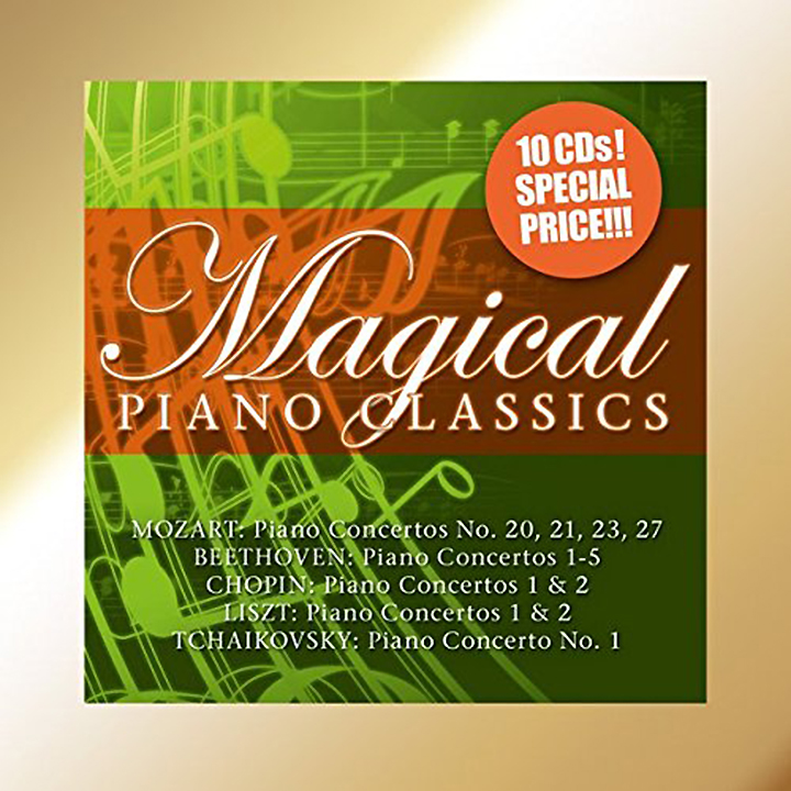 Various Artists Various Artists. Magical Piano Classics (10 CD) various artists romantic piano adagios 2 cd