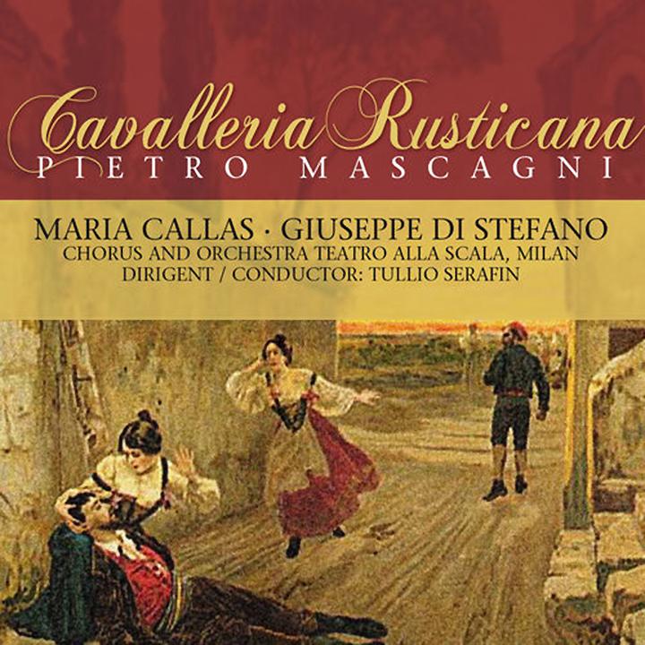 P. Mascagni, Maria Callas. Cavalleria Rusticana фоторамка mascagni