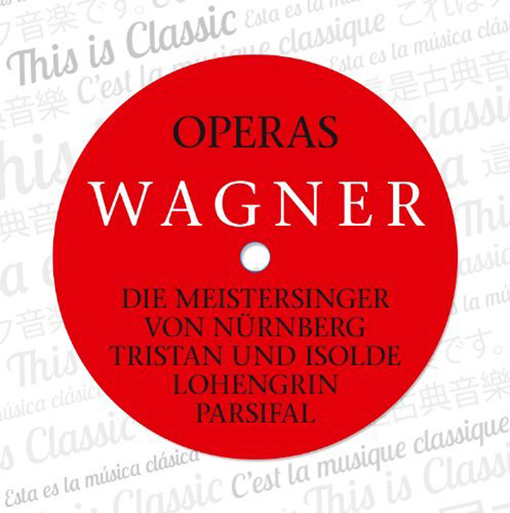 R. Wagner, W. Furtwangler. Wagner: Opern, Operas (12 CD)