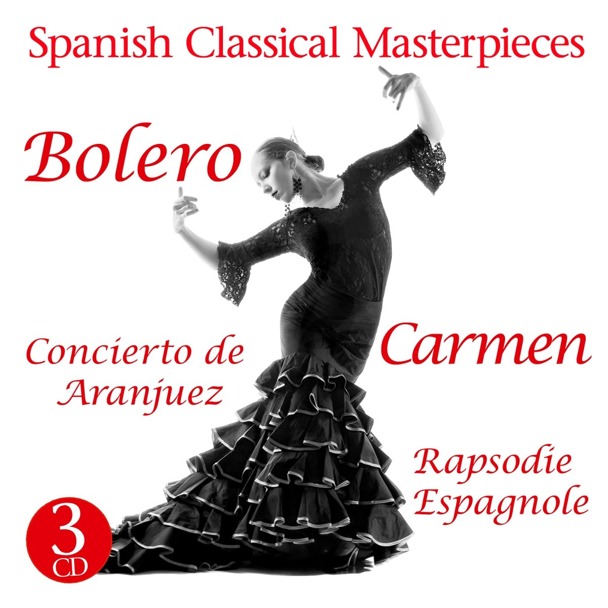 Фото - Various Artists Various Artists. Carmen, Bolero, Concierto De Aranjuez (3 CD) narciso yepes joaquin rodrigo concierto de aranjuez fantasia