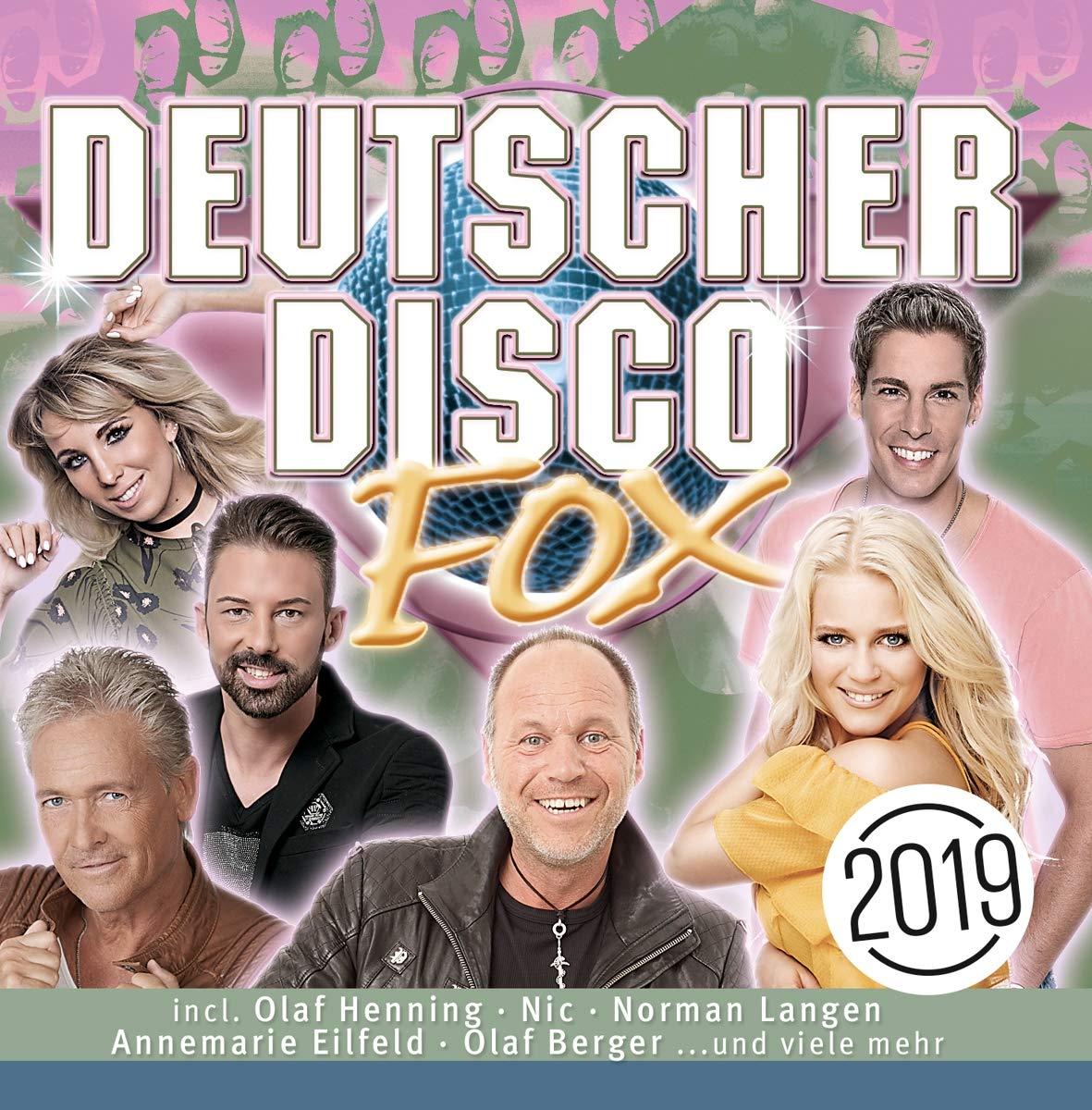 Various Artists. Deutscher Disco Fox 2019 (2 CD) deutscher disco fox 2011 2 cd