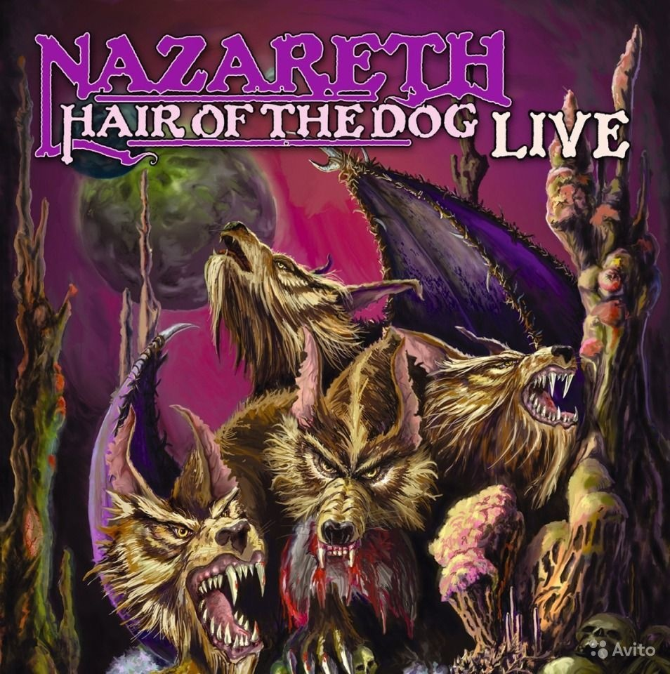 Nazareth. Hair Of The Dog Live (Record Store Day 2019) (LP, Picture Disc)