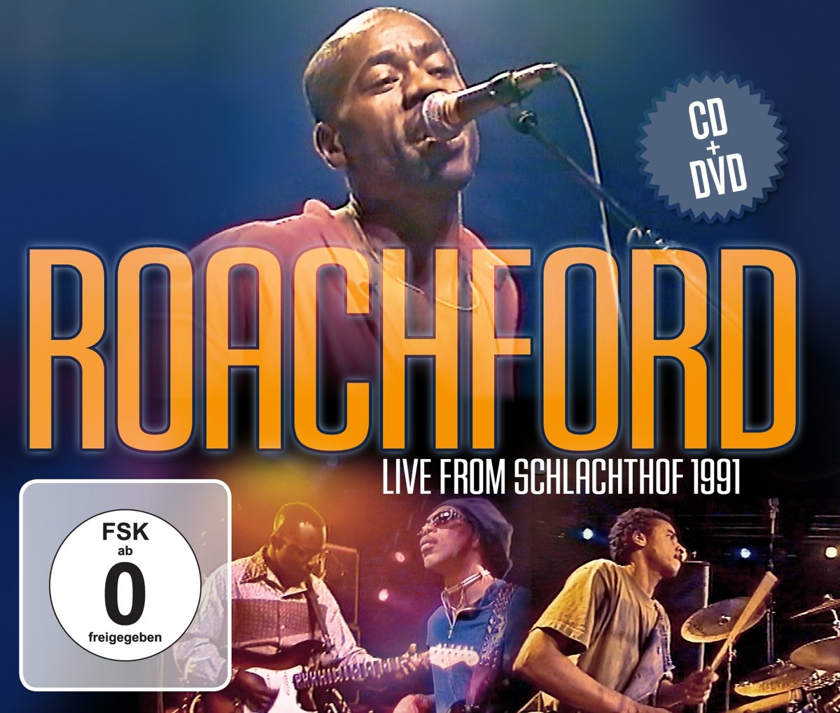Roachford Roachford. Live From Schlachthof 1991 ( CD + DVD) santana santana corazon live from mexico live it to believe it cd dvd