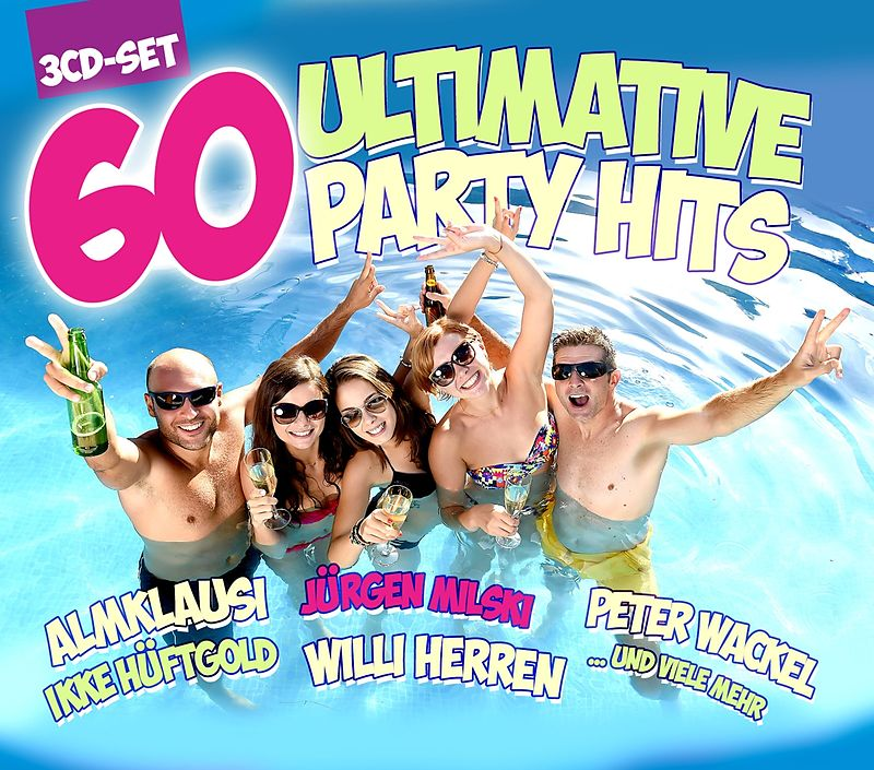 Various Artists. 60 Ultimative Party Hits (3 CD) public viewing party hits 2 cd