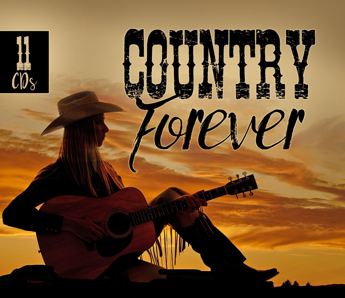 Various Artists. Country Forever (11 CD)