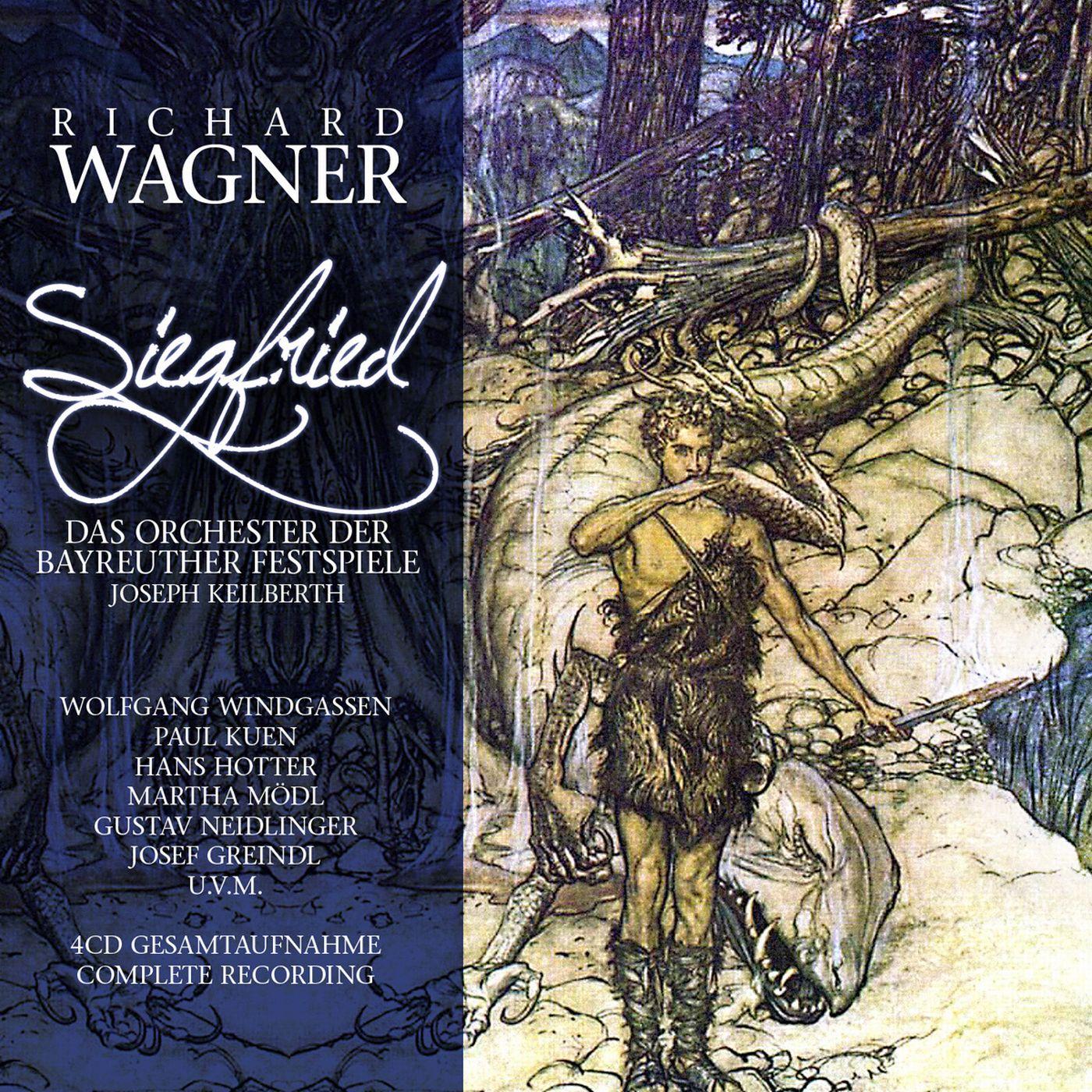 R. Wagner, J. Keilberth. Siegfried (4 CD) richard wagner siegfried idyll