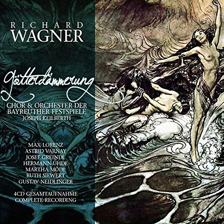 R. Wagner, J. Keilberth. Gotterdammerung (4 CD) r wagner prelude
