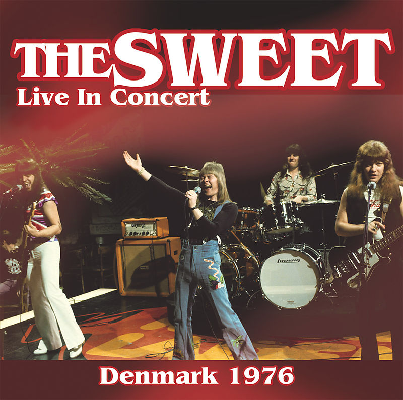 Sweet The Sweet. Live In Concert 1976 camel total pressure live in concert 1984