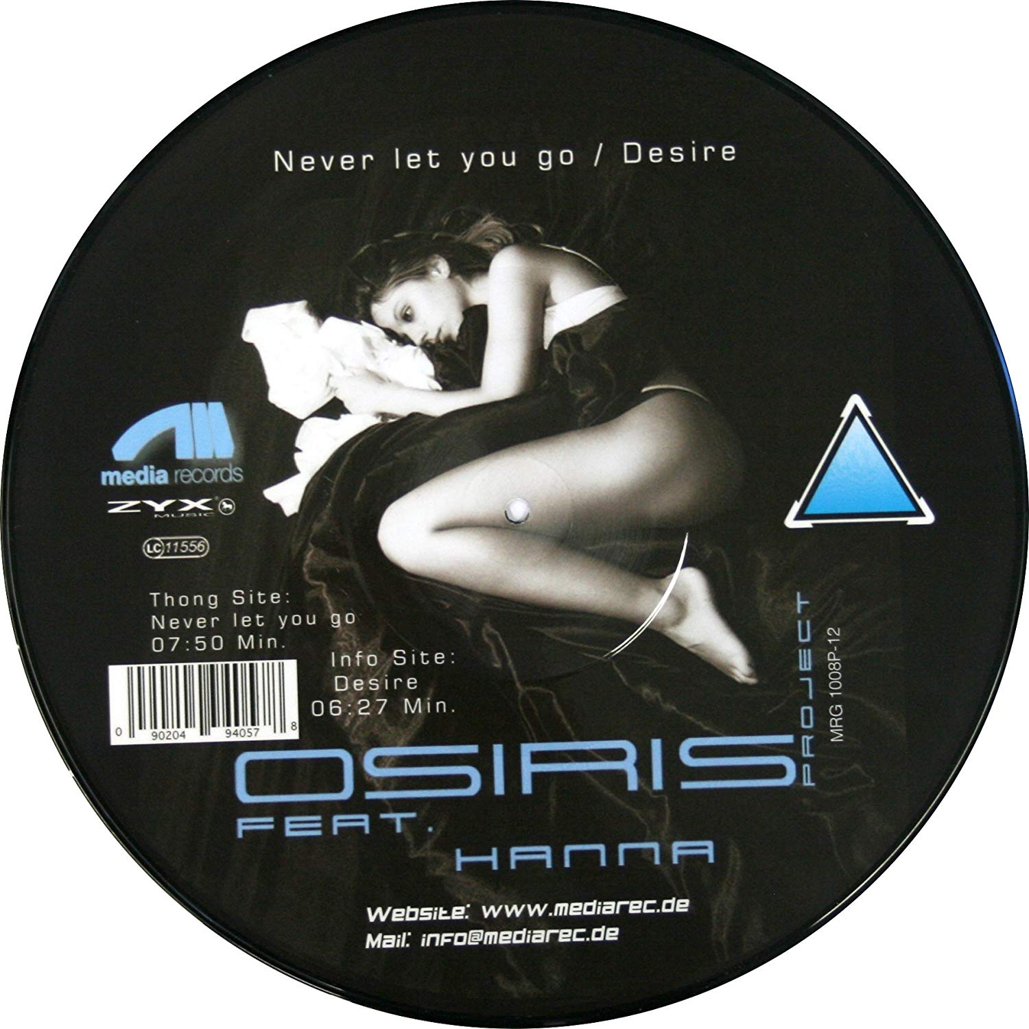 Osiris-Project, Hanna. Never Let U Go, Desire (LP, Picture Disc)
