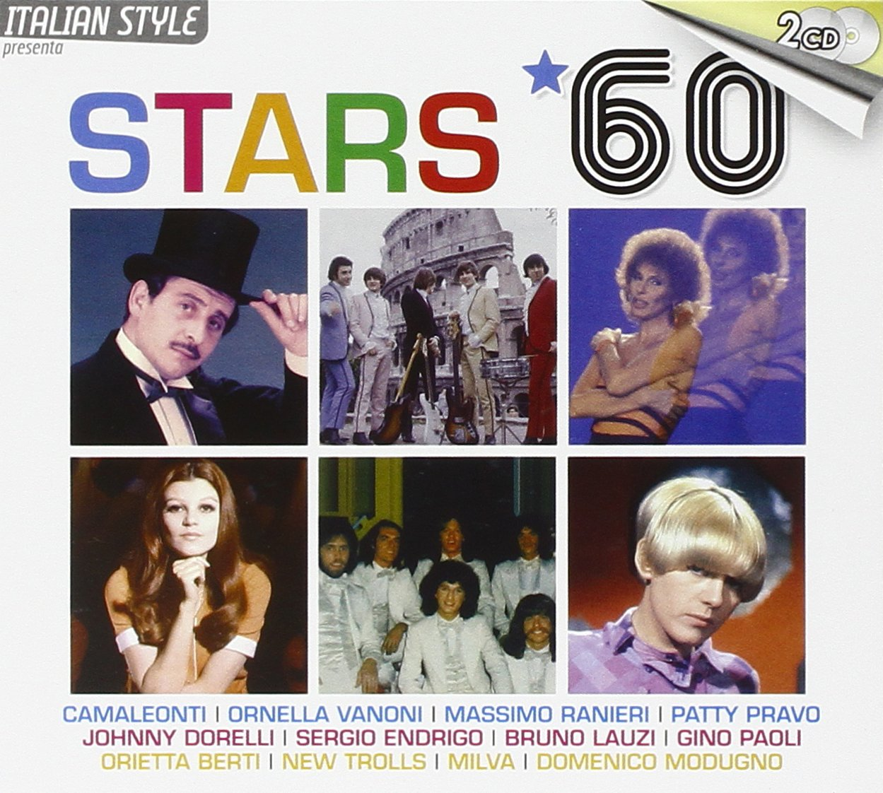 Various Artists Various Artists. Stars *60 (2 CD) various artists various artists cinema italiano