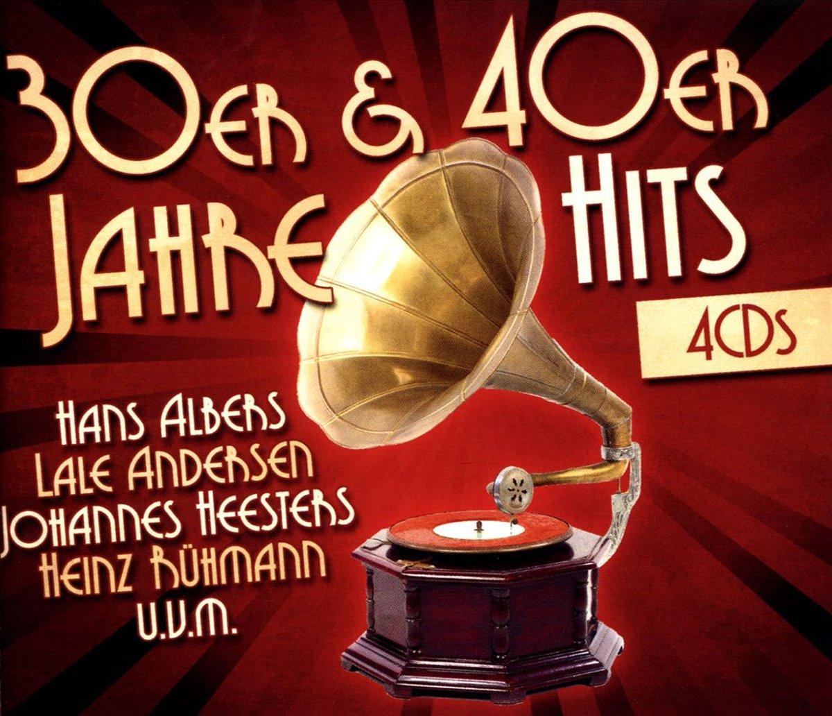 Хэльге Альберс,Laura Andersen,Джоаннес Хистерс,Хайнц Руман H. Albers, L. Andersen, J. Heesters, H. Ruhmann. 30er & 40er Jahre Hits (4 CD)
