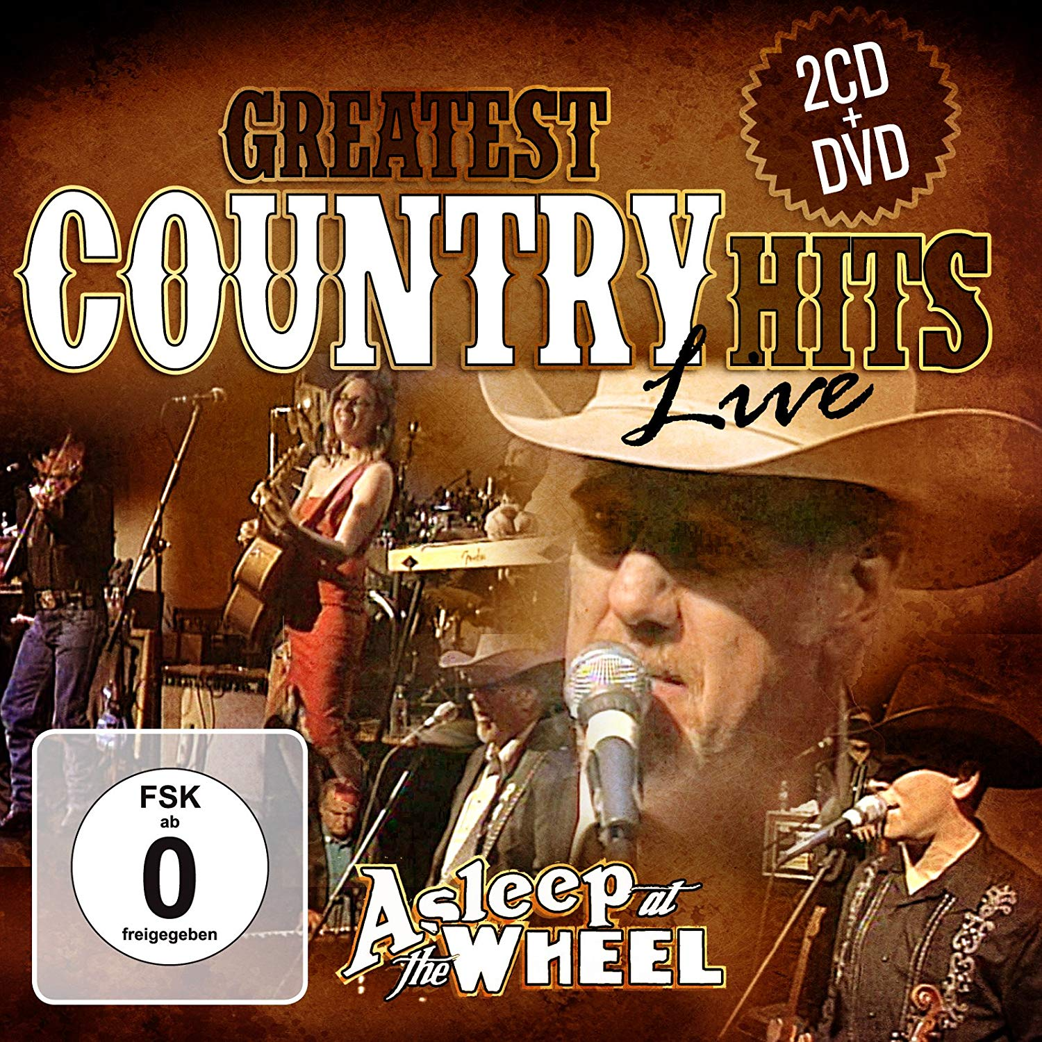 Asleep At The Wheel Asleep At The Wheel. Greatest Country Hits Live (2 CD + DVD) цена