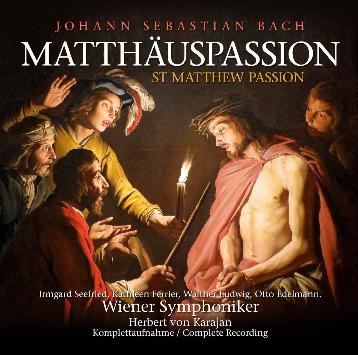 лучшая цена Иоганн Себастьян Бах,Герберт Караян Johann Sebastian Bach, Herbert Von Karajan. Die Matthauspassion (3 CD)