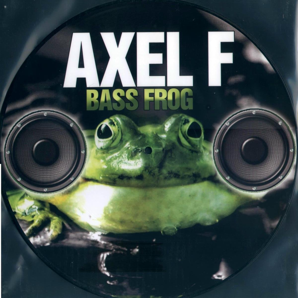 Bass Frog. Axel F (LP, Picture Disc)