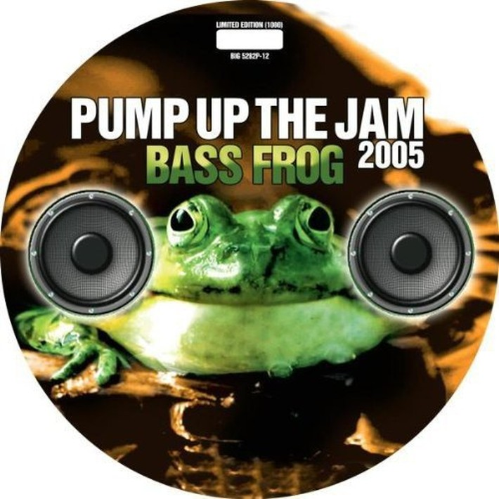 Bass Frog Bass Frog. Pump Up The Jam 2005 (LP, Picture Disc)