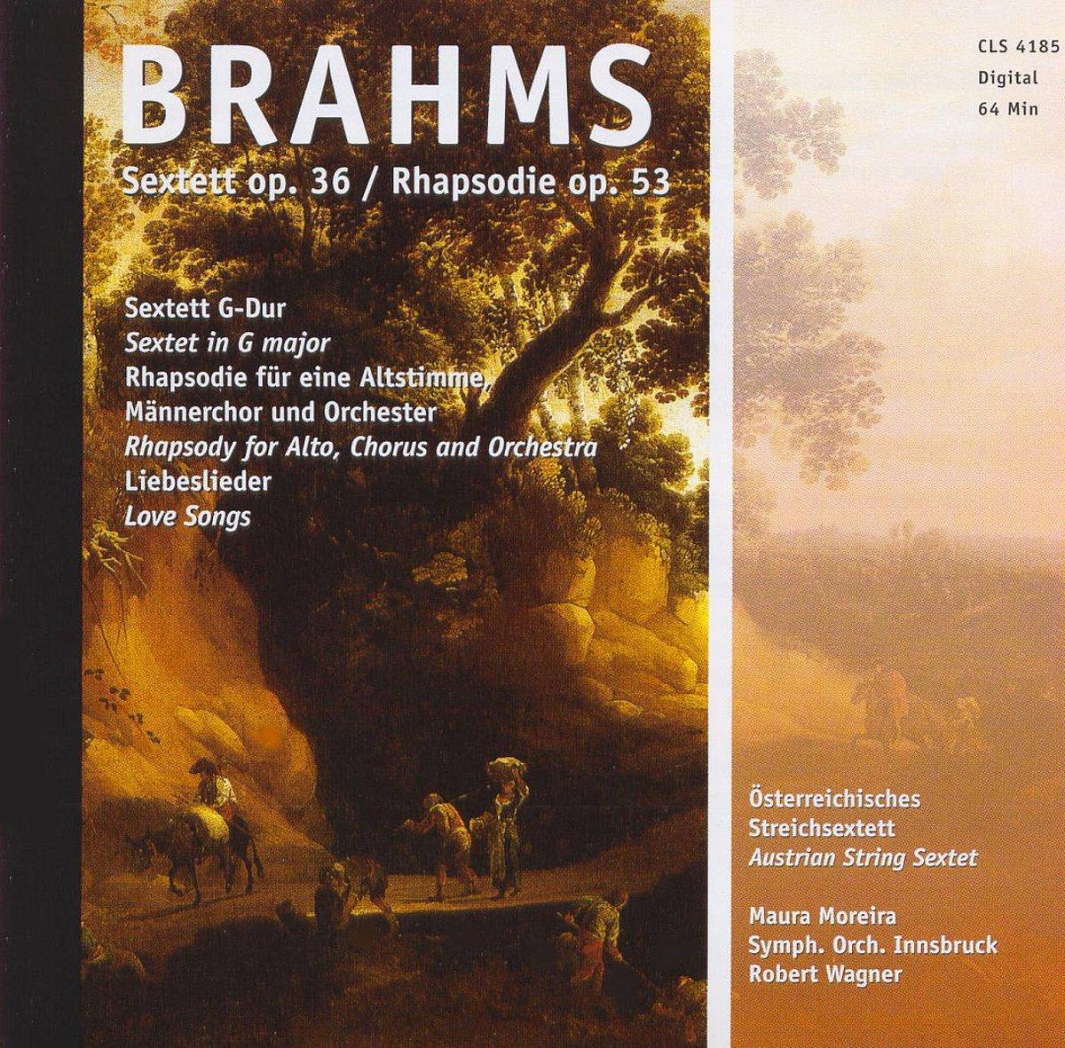 Brahms Brahms. Sextett Op. 36, Rhapsodie Op. 53 h mohr zigeunermusik op 36