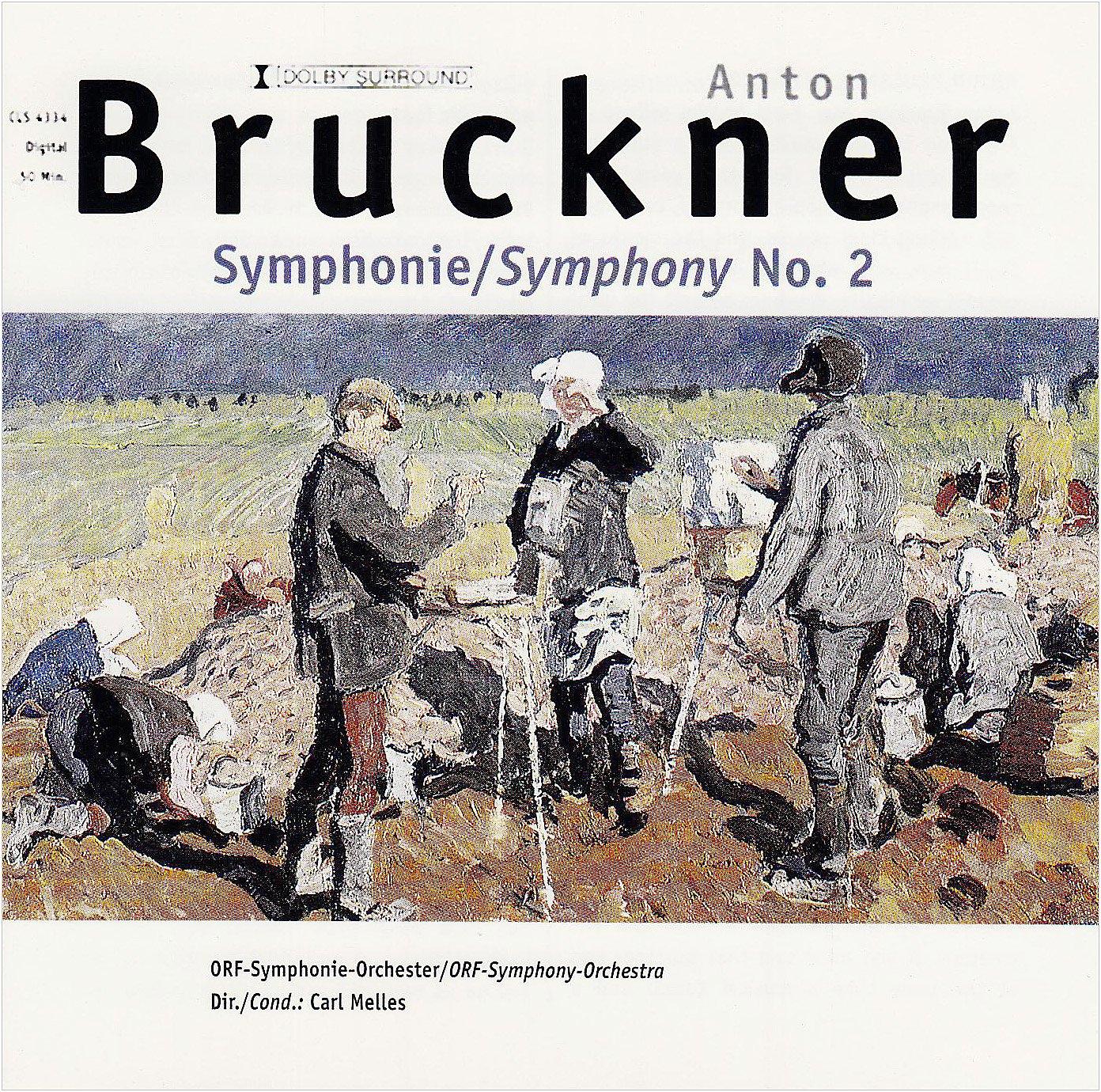 Anton Bruckner. Symphonie Nr. 2