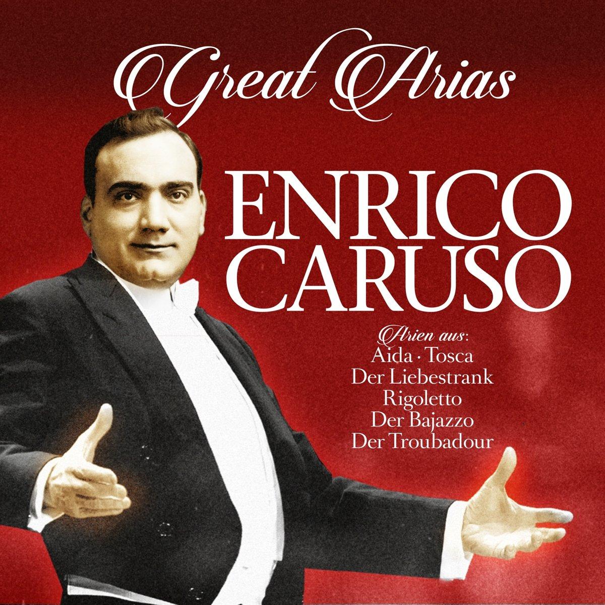 Enrico Caruso. Great Arias (LP)