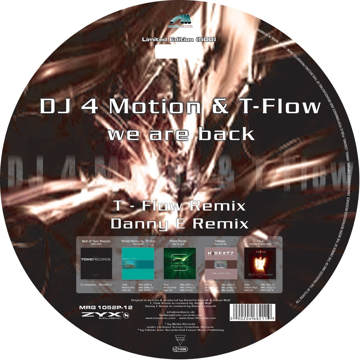 DJ 4 Motion & T-Flow Dj 4 Motion & T-flow. We Are Back (LP) u convex pouch back hollow out design string t back