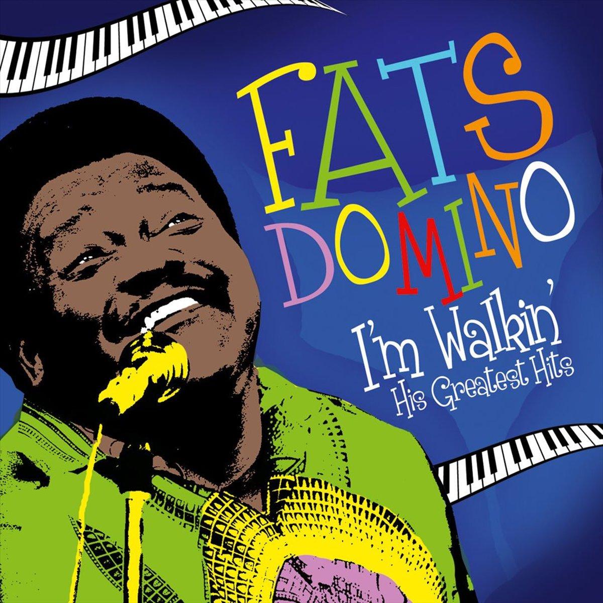 Фэтс Домино Fats Domino. Im Walkin - His Greatest Hits (LP)