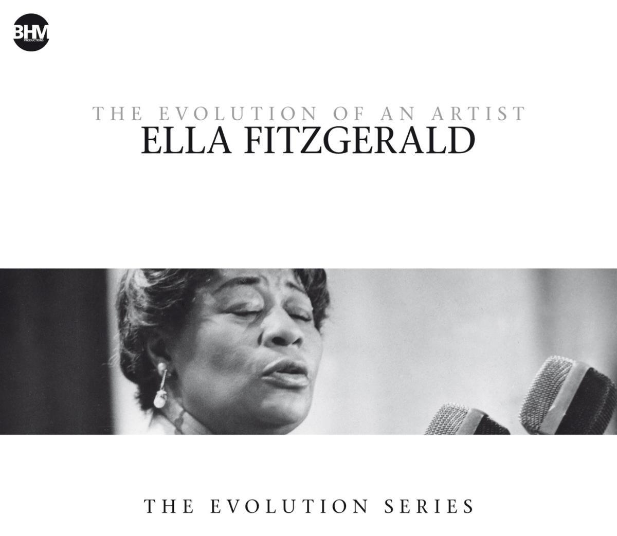 Ella Fitzgerald. Ella Fitzgerald - The Evolutio (4 CD) cd ella fitzgerald great american songbook