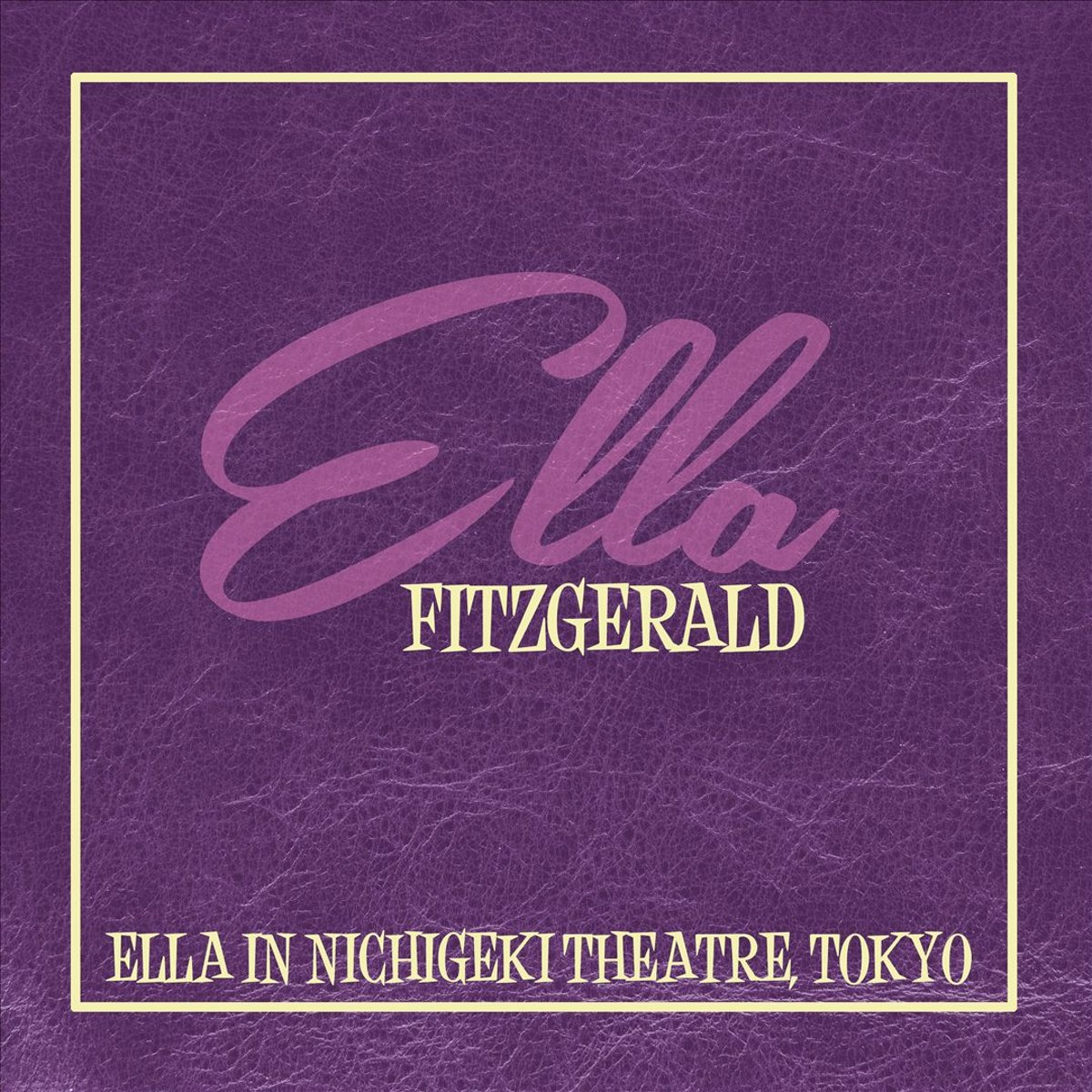Элла Фитцжеральд Ella Fitzgerald. Ella In Nichigeki Theatre, Tok (LP) сабо ella ella el023awebb89
