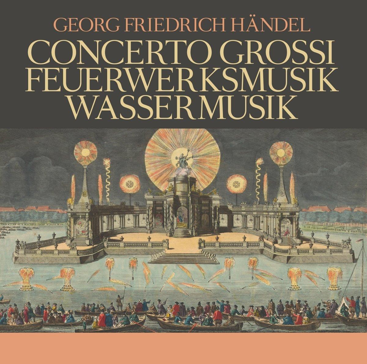 Георг Гендель Georg Friedrich Handel. Concerti Grossi, Feuerwerksmus (3 CD) julia grossi julia grossi ju011awlkq41