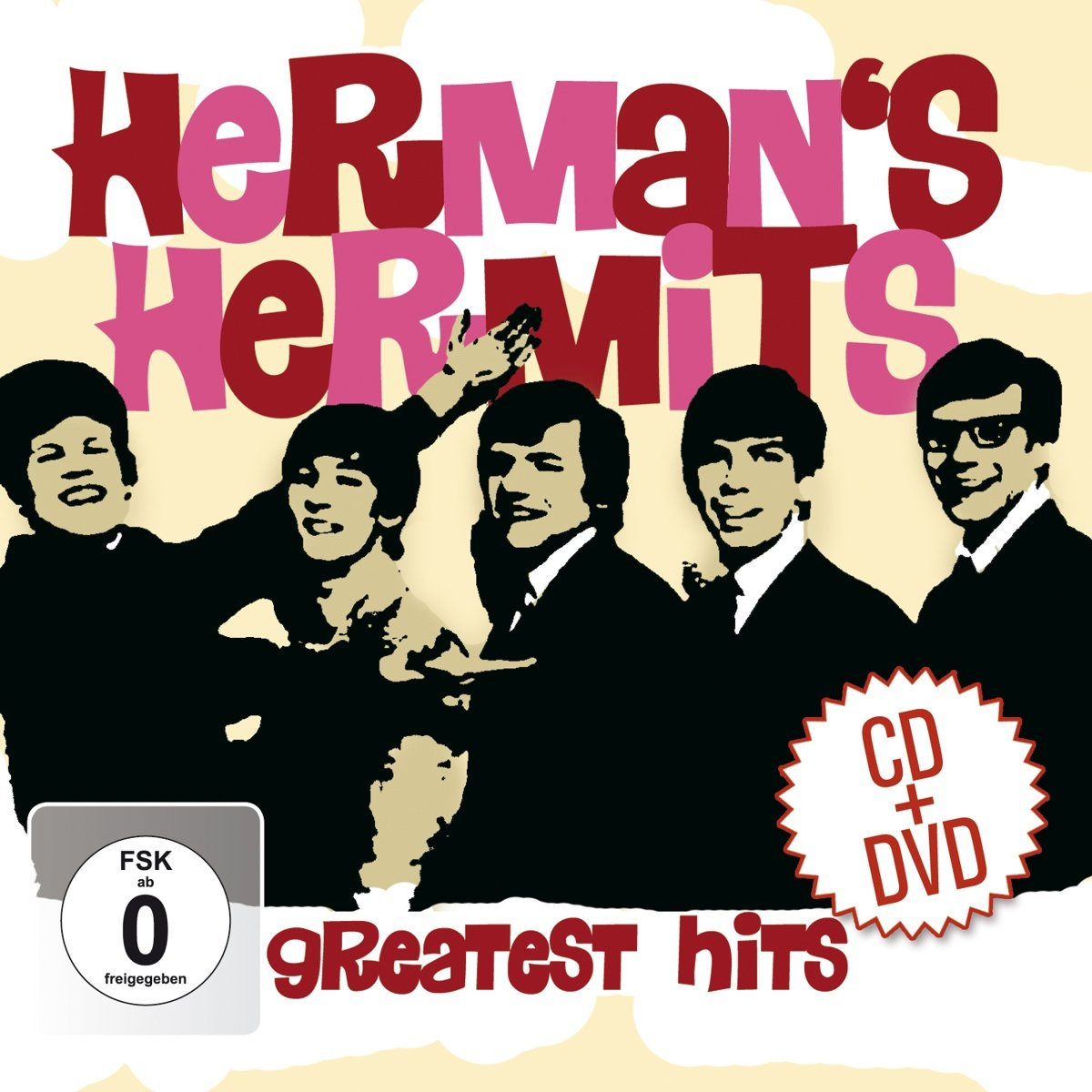 The Herman's Hermits Herman's Hermits. Greatest Hits (2 CD + DVD) цена