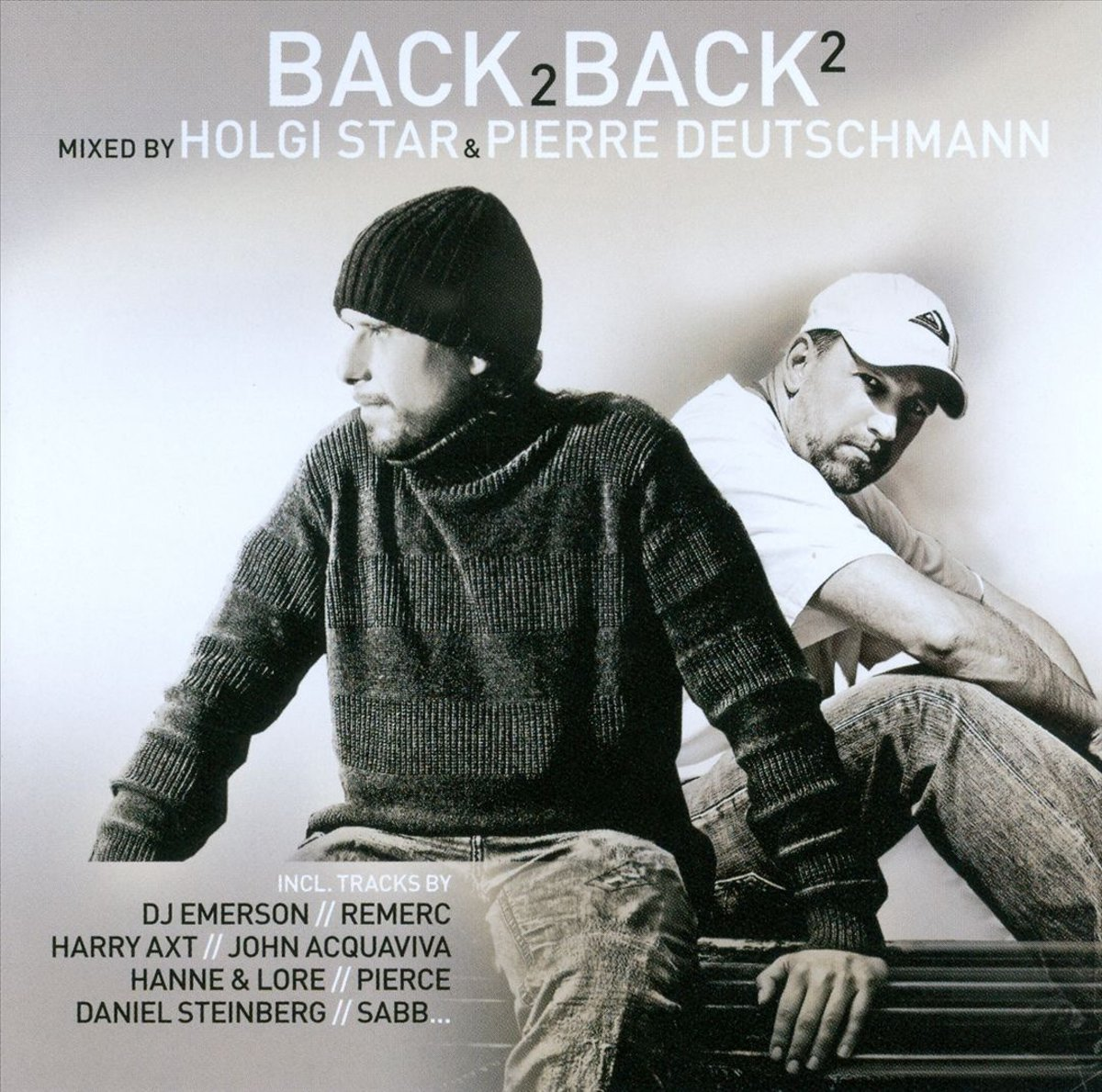 Фото - Holgi Star,Pierre Deutschmann Holgi Star & Pierre Deutschman. Back 2 Back Vol. 2 (2 CD) contrast lace keyhole back blouse
