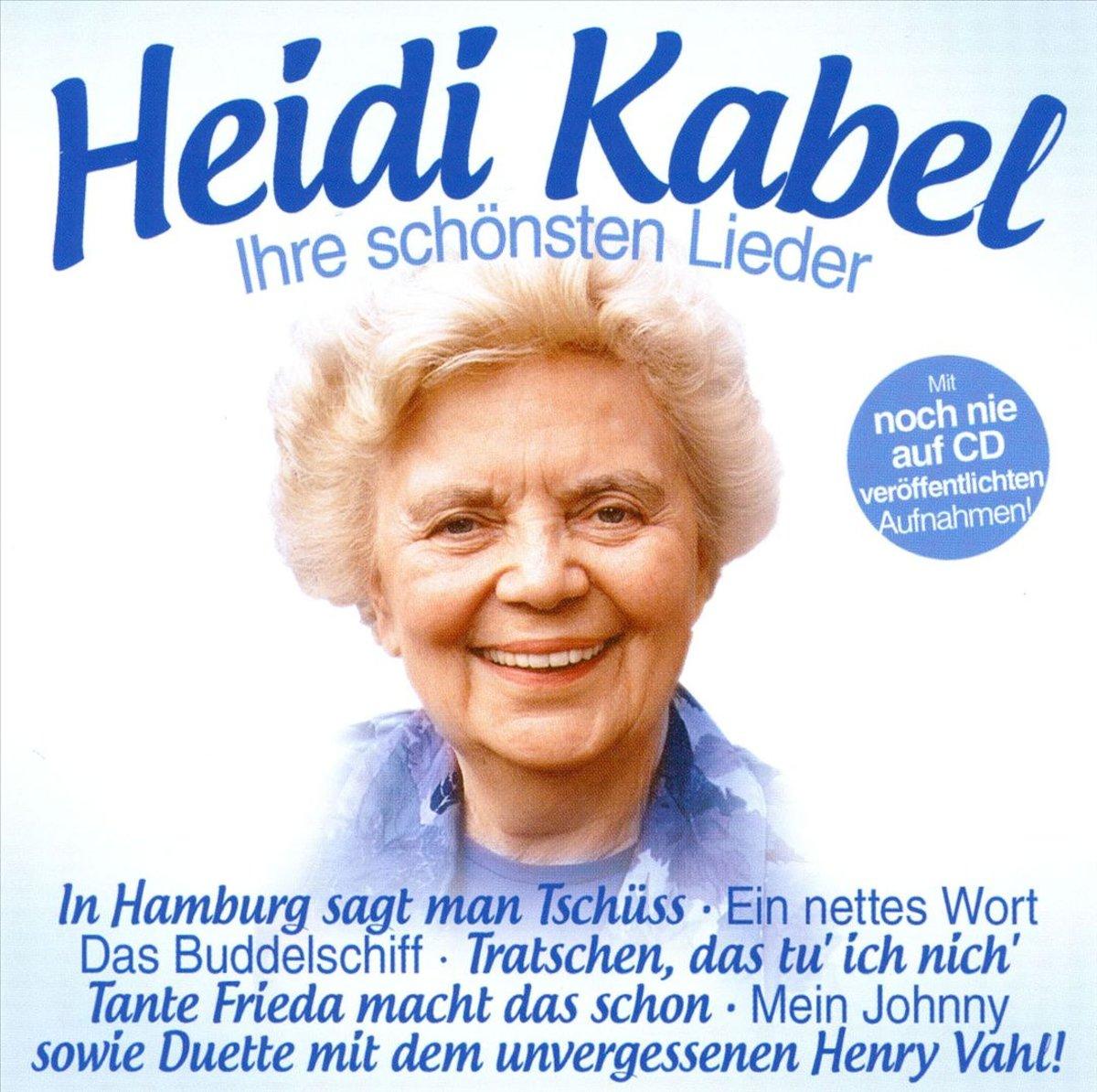 Heidi Kabel Heidi Kabel. Ihre Schonsten Lieder heidi vihma setost saarteni
