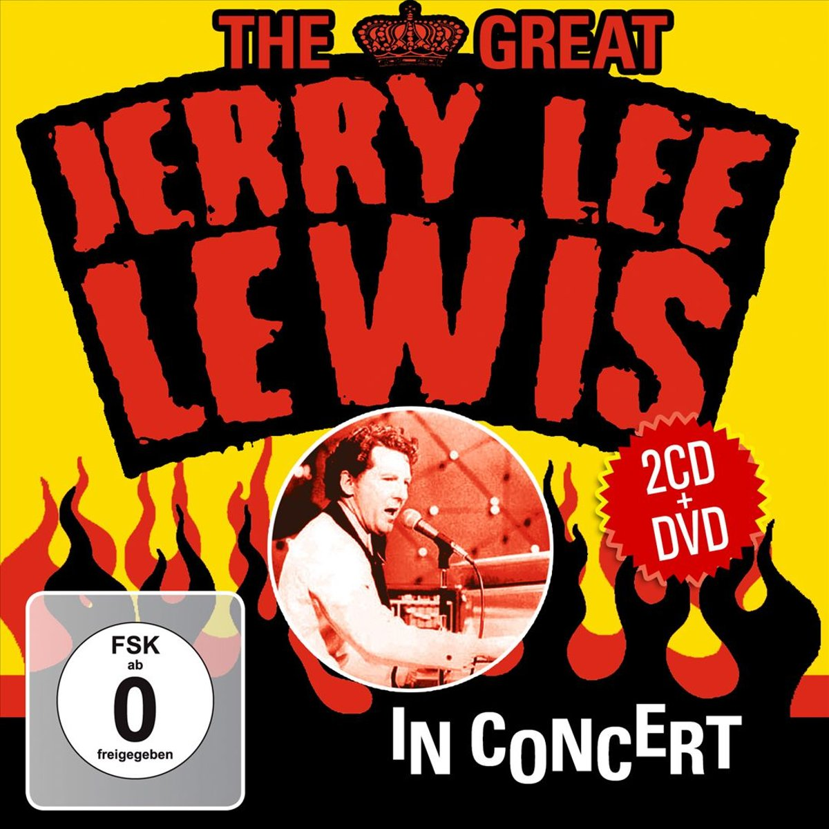 Джерри Ли Льюис Jerry Lee Lewis. The Great Jerry Lee Lewis In Concert (2 CD + DVD) erotic fantasies in uniform 2 cd dvd