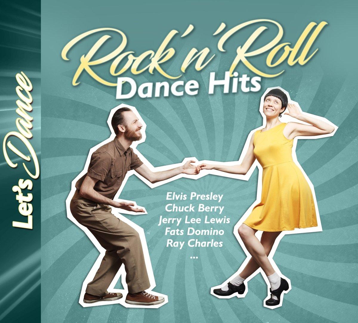 E. Presley, C. Berry, J. L. Lewis. Rock'N'Roll Dance Hits (2 CD) dance top hits 6 4 cd