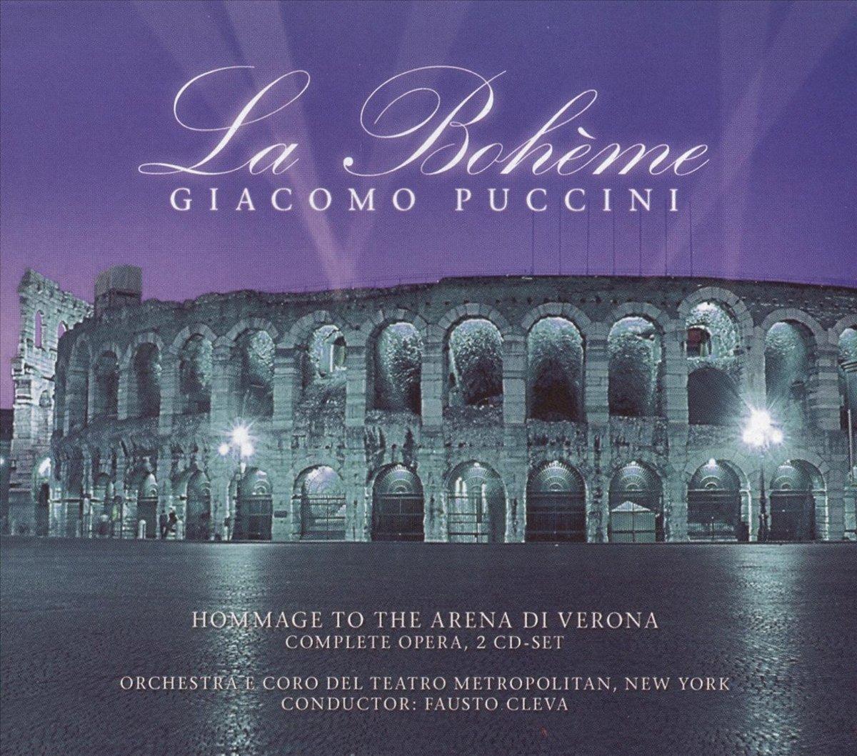 Джакомо Пуччини Giacomo Puccini. La Boheme (2 CD) джакомо пуччини toska