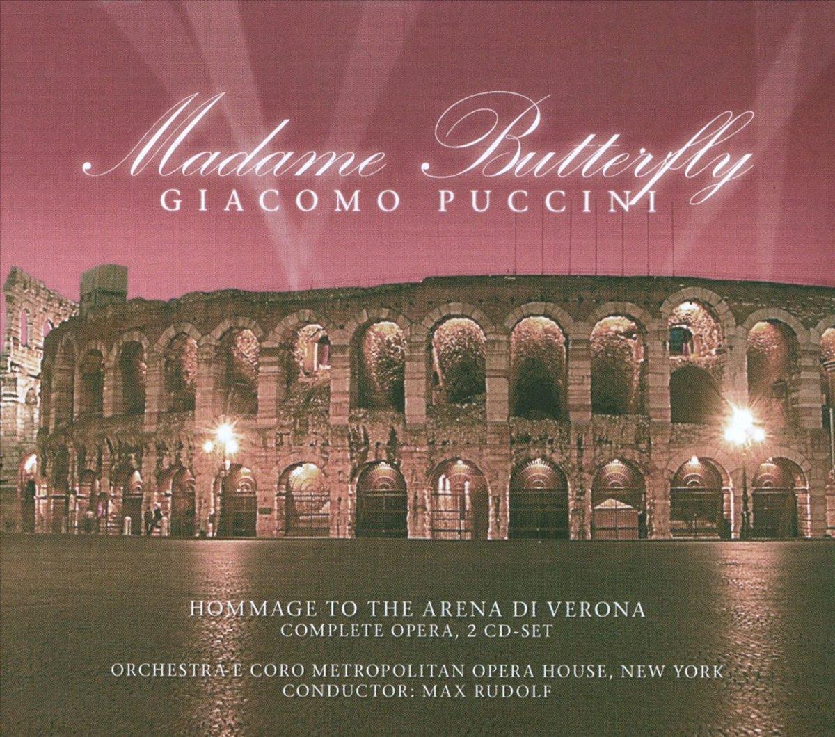 Джакомо Пуччини Giacomo Puccini. Madame Butterfly (2 CD) джакомо пуччини toska