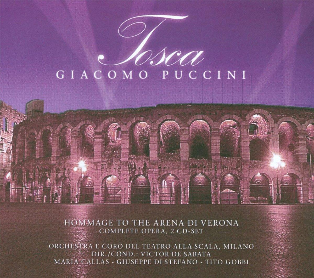 Джакомо Пуччини Giacomo Puccini. Tosca (2 CD) джакомо пуччини toska
