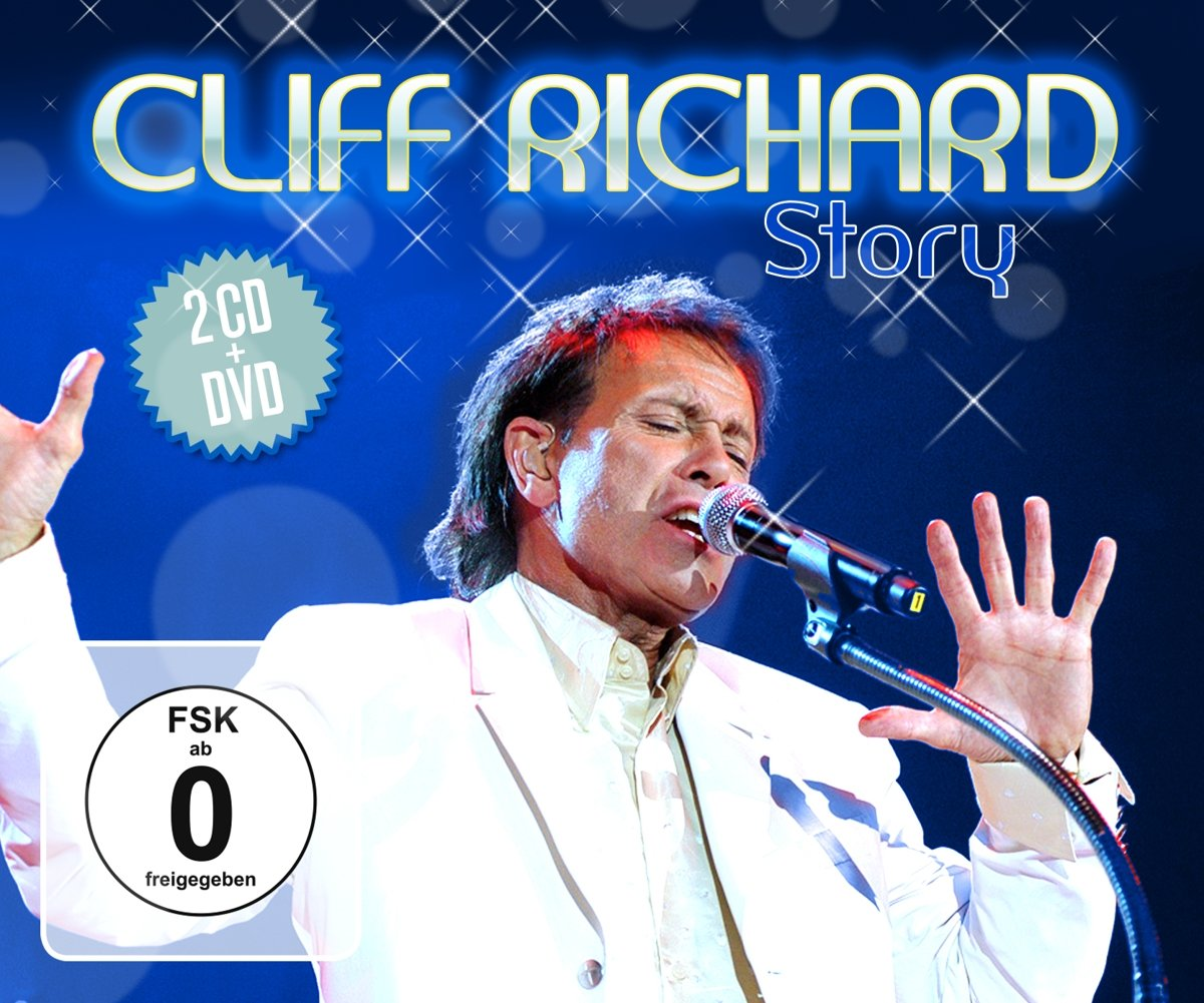 Клифф Ричард Cliff Richard. Cliff Richard Story (2 CD + DVD) цена и фото