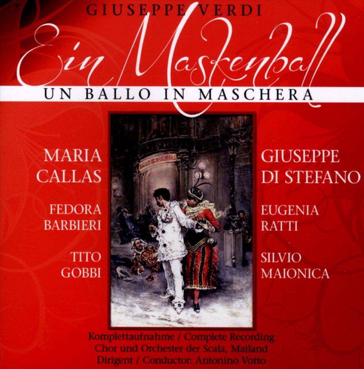Джузеппе Верди,Мария Каллас Giuseppe Verdi, Maria Callas. Un Ballo In Mas (2 CD) verdi james levine un ballo in maschera