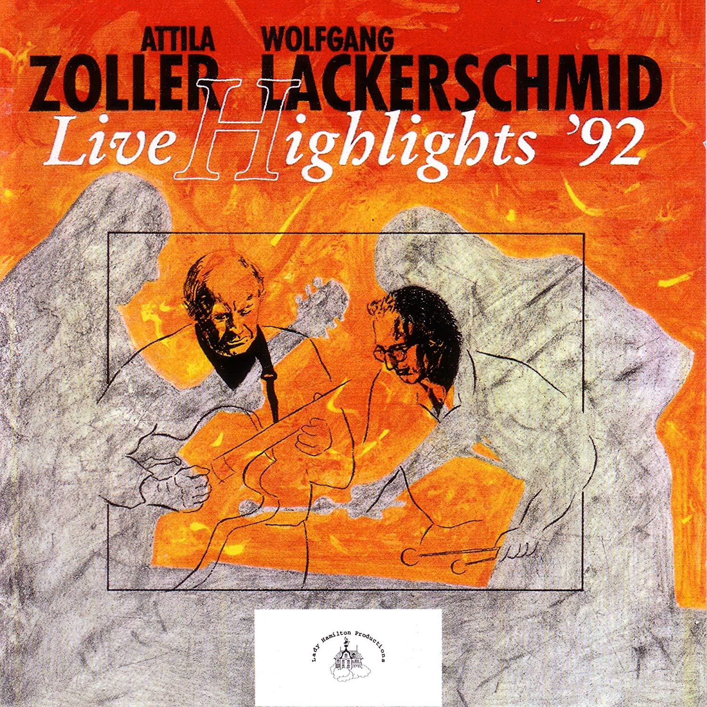 Фото - Аттила Золлер,Wolfgang Lackerschmid Attila Zoller & Lackerschmid. Live Highlights '92 нэйпир уильям аттила