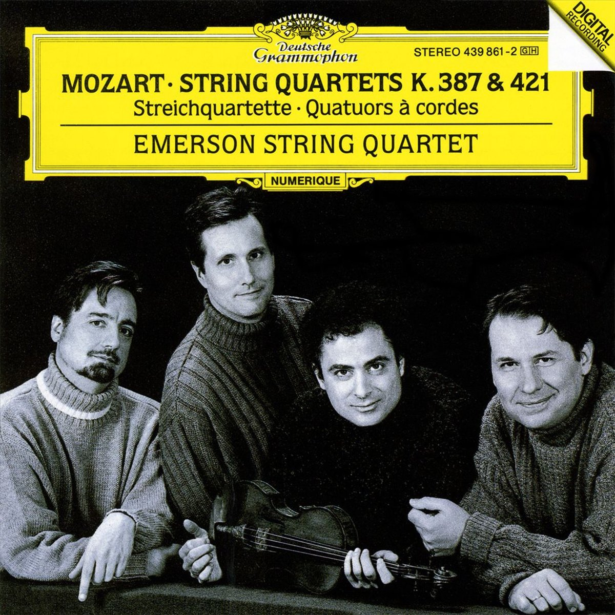 Emerson String Quartet. Mozart: String Quartets K.387 & 421 a reichel string quartet in c major op 8